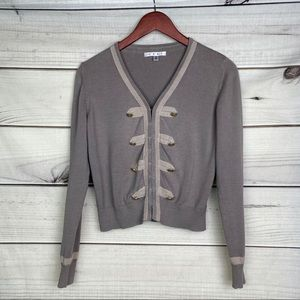 CAbi Corporal Military Cardigan Sweater Style 281